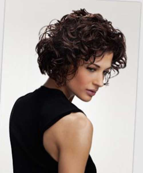 Curly Short Bob Hairstyles 2015