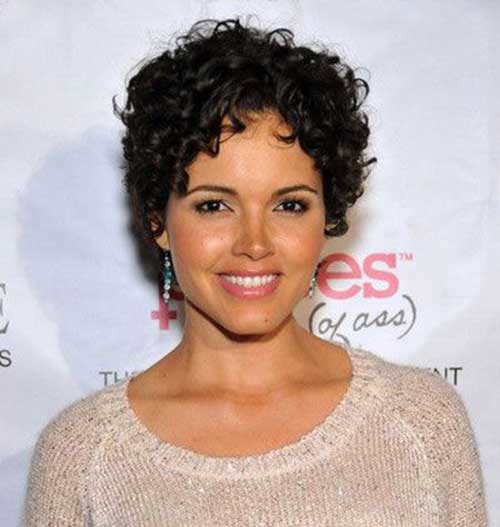 Best Curly Short Hair for Women 2015