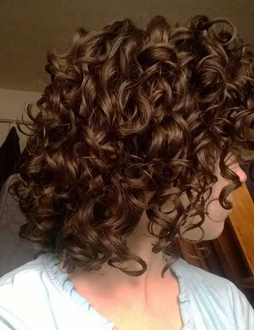 Best Curly Short Hairstyles 2015