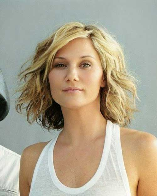 Curly Short to Medium Hairstyles 2014