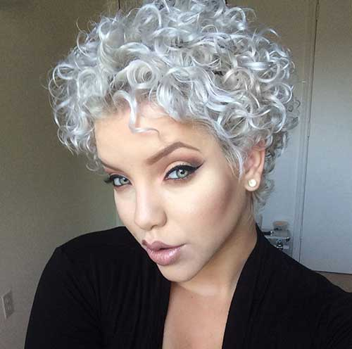 Curly Thick Natural Hairstyles Pixie Cuts