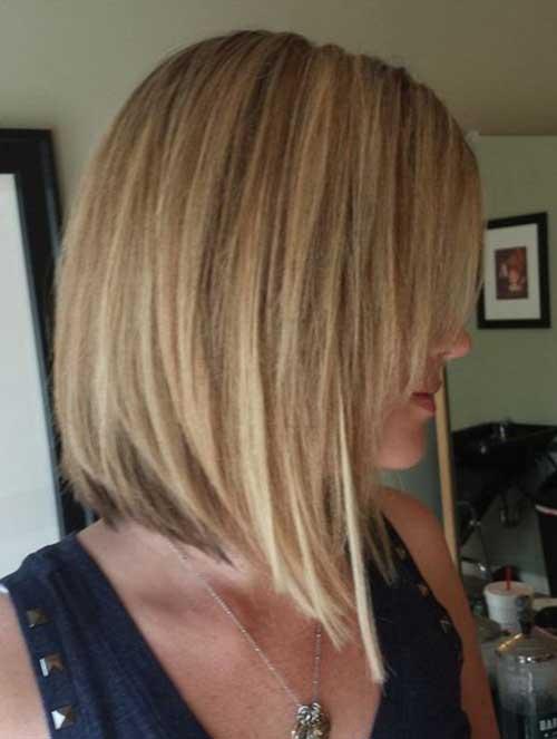 Cute Angled Haircuts 2014 2015