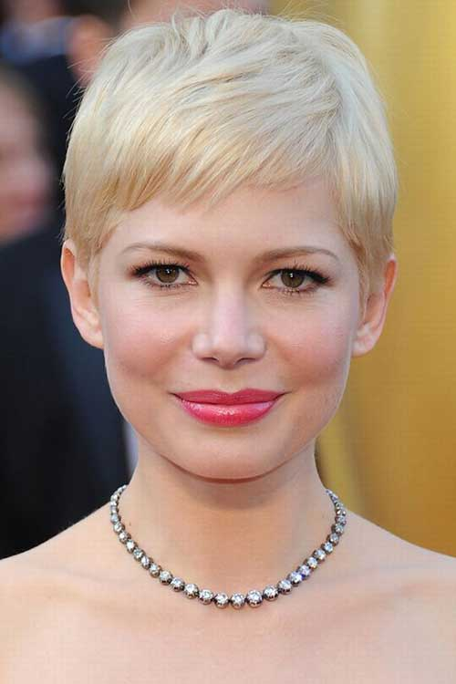 Cute Blonde Pixie Haircuts 2015