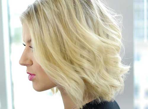 Cute Easy Short Blonde Hair