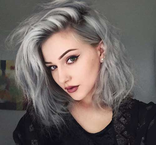 Cute Easy Short Side Swept Hairstyles