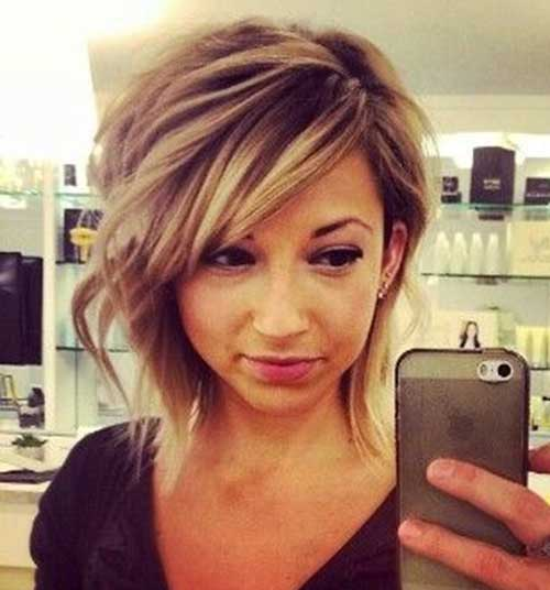 Cute Easy Short Layered Cut Hairstyles