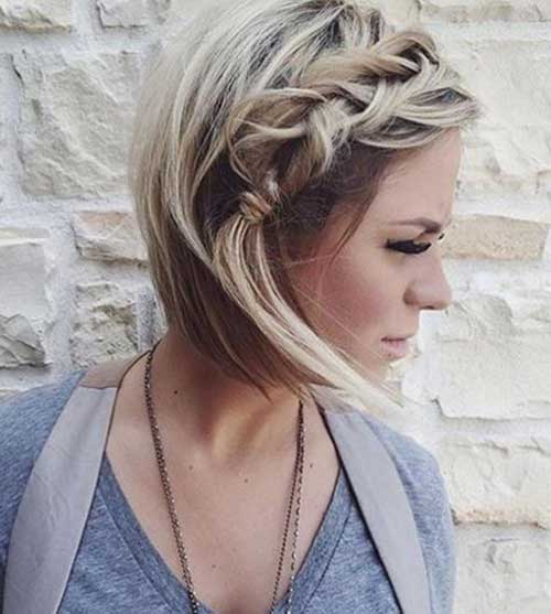 Pretty Cute Hairstyle Ideas for Short Hair | Short Hairstyles 2017 ...