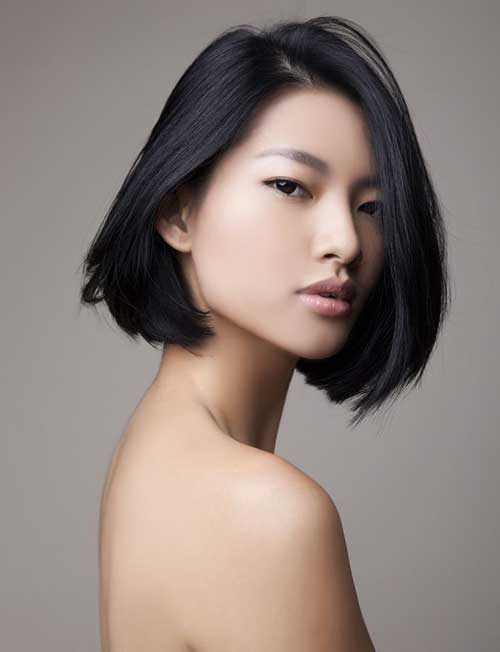 Cute Line Short Haircuts