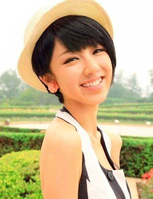 Cute Short Asian Hairstyle Ideas 2014 2015