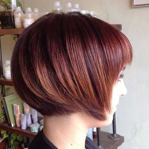 Cute Short Bob Haircuts Ideas 2015