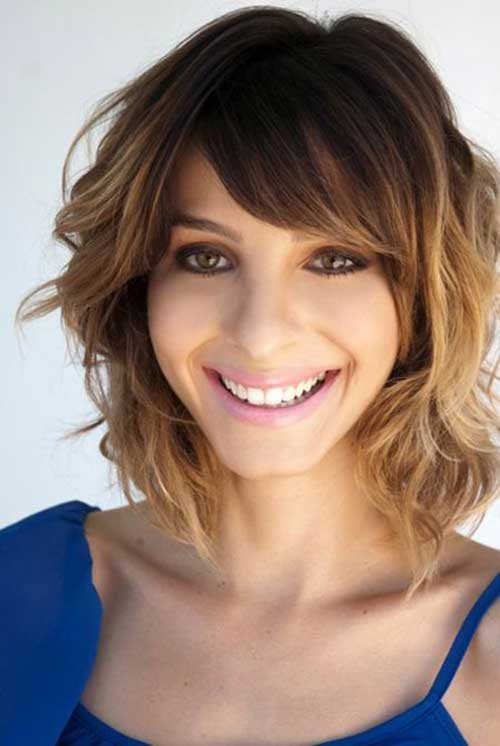 Cute Short Wavy Hair 2014