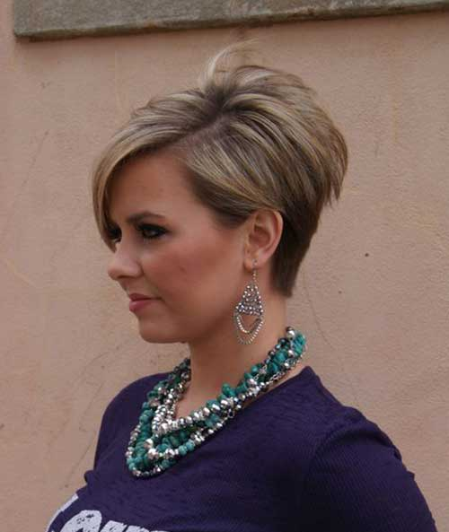 Cute Asymmetrical Short Haircuts 2014