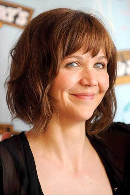 Cute Short Haircuts with Bangs 2015