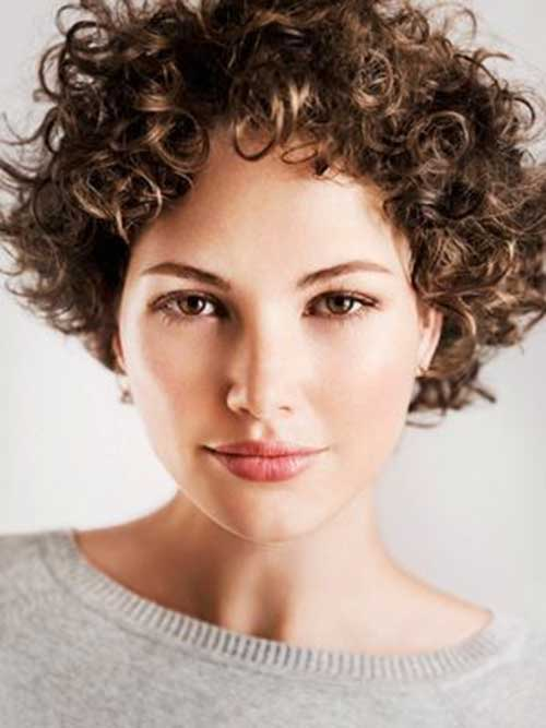 Fine Short Curly Haircuts 2014 2015 Short Hairstyles 2016 2017 Hairstyles For Women Draintrainus