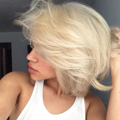 Cute Short Layered Haircuts 2015