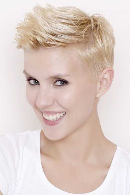 Cute Short Quiff Hairstyles