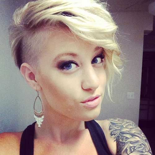 Edgy Hairstyles for Shaved Short Hair