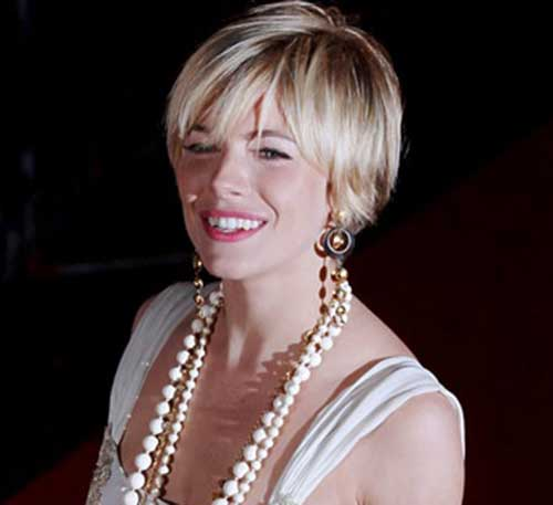 Fine Hair Blonde Pixie Cut 2015