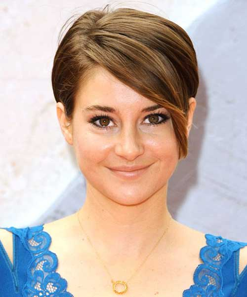 Fine Long Pixie Haircut