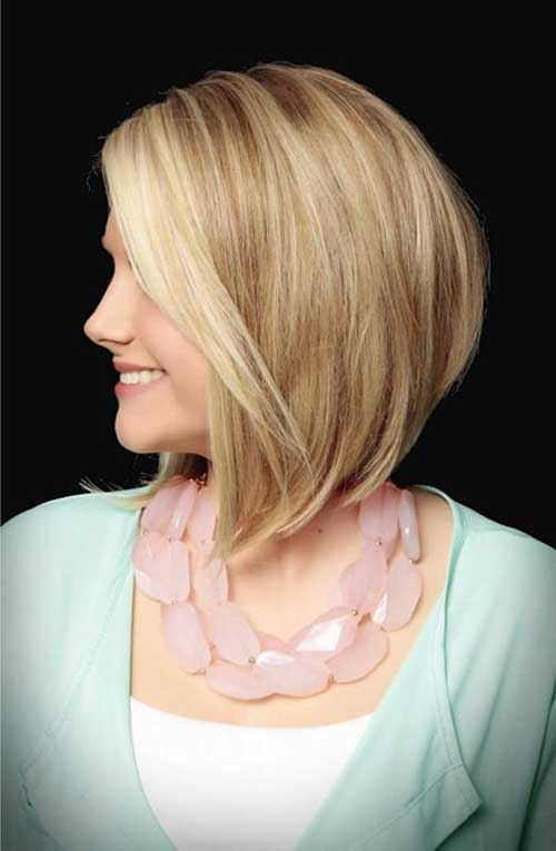 Prime Stacked Bobs For Fine Hair Best Hairstyles 2017 Hairstyle Inspiration Daily Dogsangcom