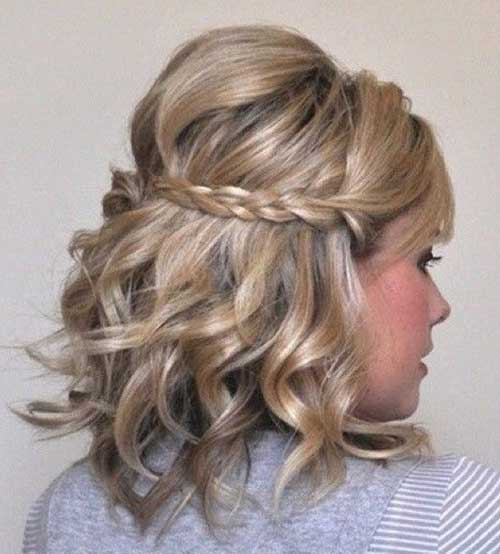 Hairstyles For Short Hair Clubbing : Best curly short hairstyles