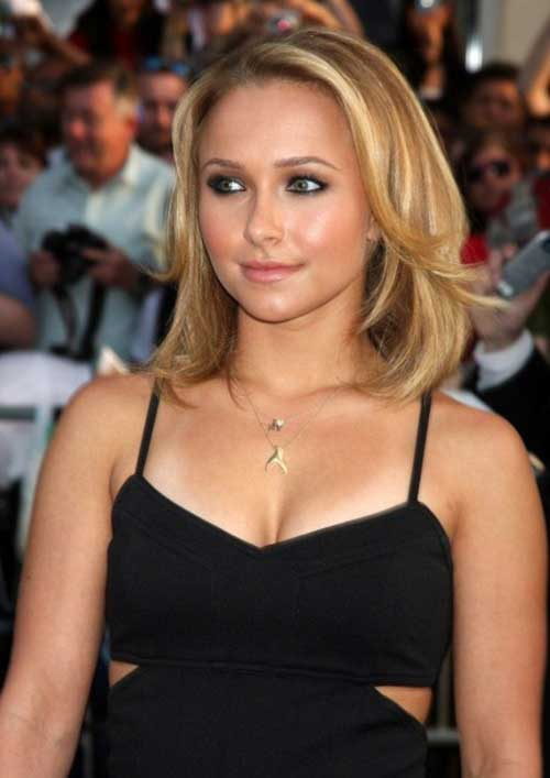 Hayden Panettiere Casual Bob Hair