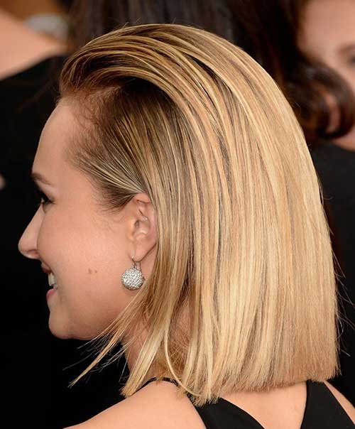 Hayden Panettiere Slicked Straight Bob Ideas
