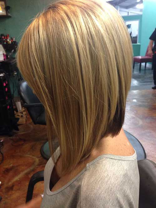 Inverted Blonde Bob Hairstyles Ideas