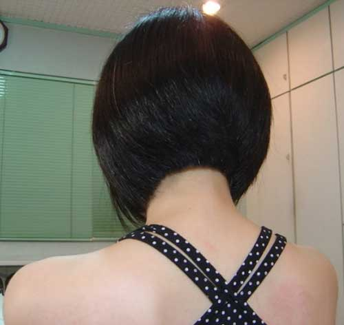 15 Best Back View Of Bob Haircuts Short Hairstyles 2018 2019