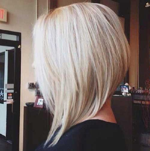 Inverted Short Haircuts