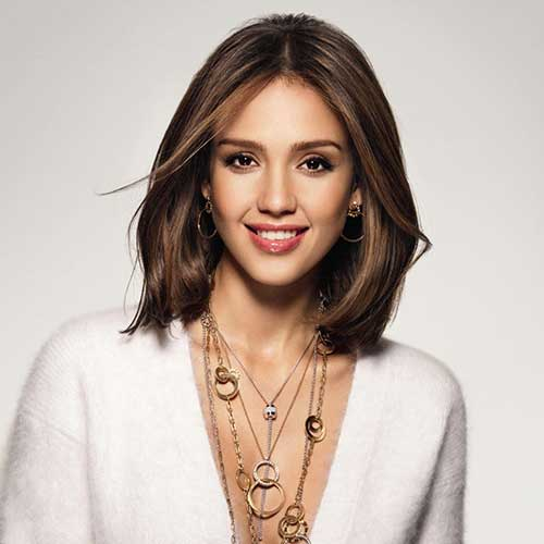 Jessica Alba Short Haircuts 2015