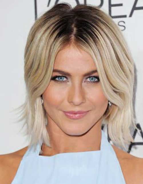 Julianne Hough Fine Bob Hair