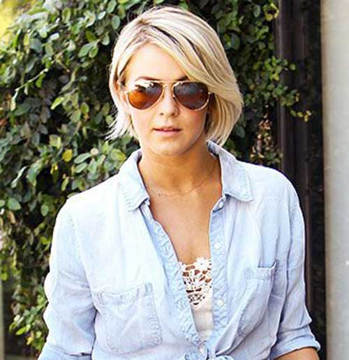 Julianne Hough Short Bob Cuts