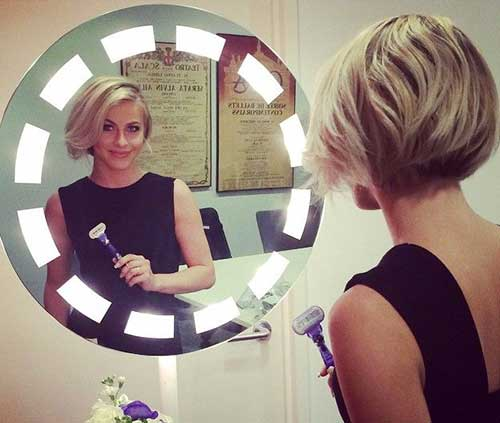 Julianne Hough Stylish Short Bob