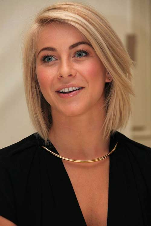 Julianne Hough Straight Bob Style