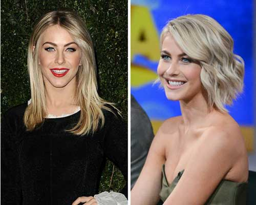 Julianne Hough Stylish Bob Hair