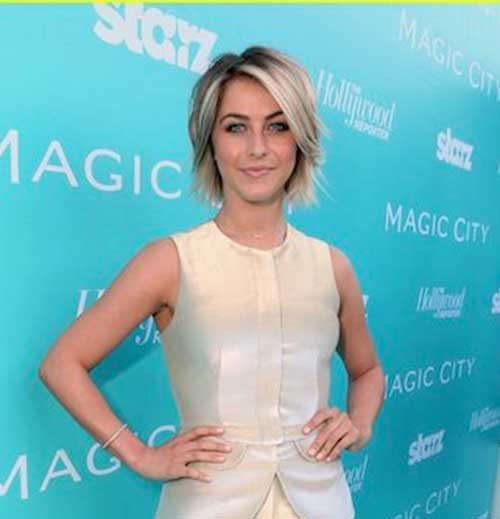 Julianne Hough Trendy Bob Haircuts