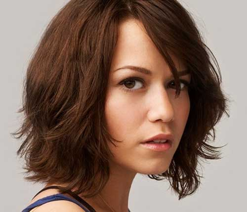 Ladies Short Wavy Haircuts 2015