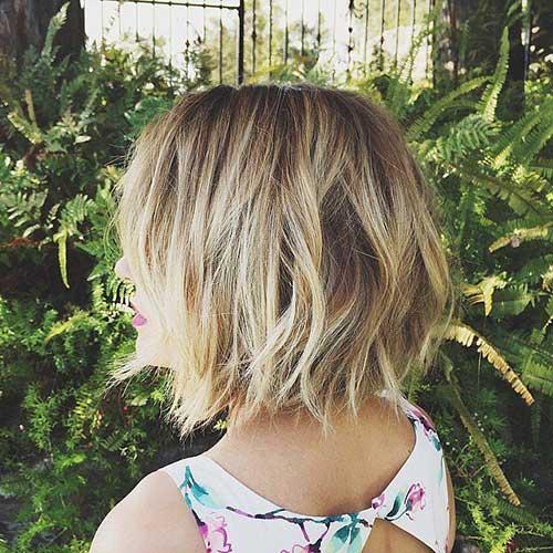 Lauren Conrad Style Wavy Short Haircuts