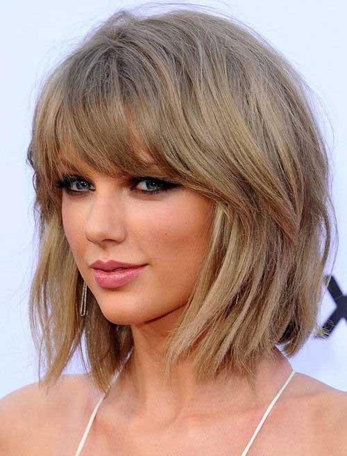 Layered Blonde Bob Hairstyles
