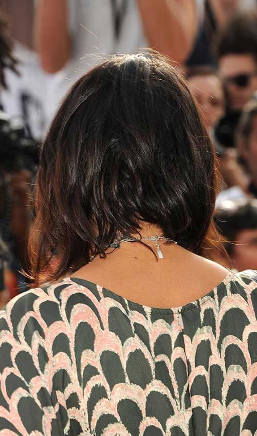 Layered Bob Haircut Back View Look