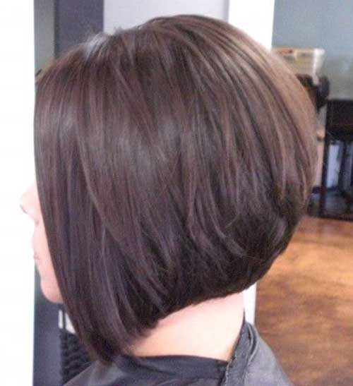 Layered Bob Haircut Back View