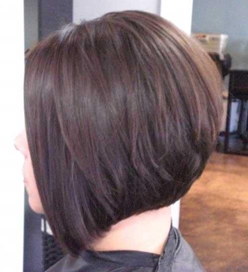 Layered Bob Haircut Back View