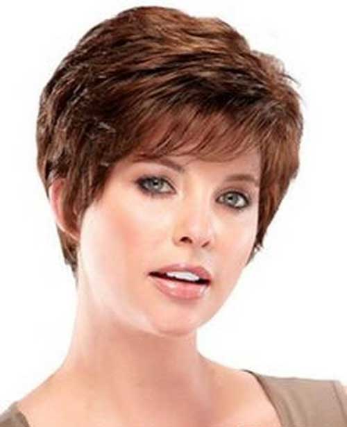 Layered Pixie Short Hair Styles For Over 50
