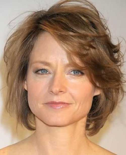 Layered Short Hair Styles For Over 50