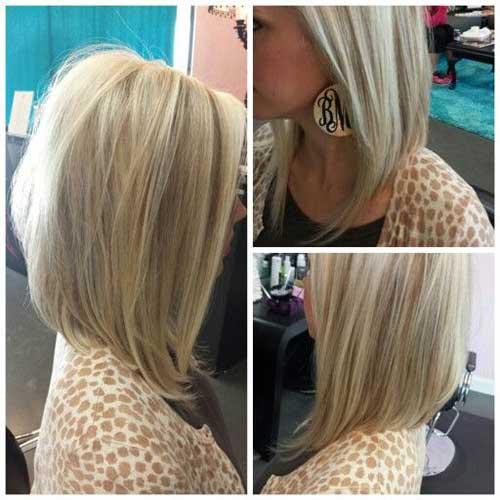 Long Angled Bob Haircuts For 2015
