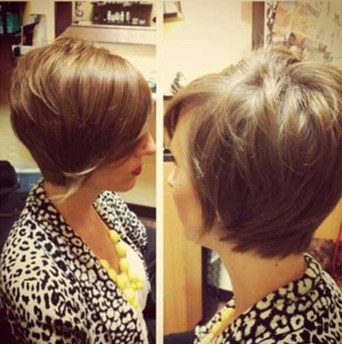 Long Shaggy Pixie Bob Cut Styles
