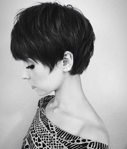 Medium Pixie Haircut Idea