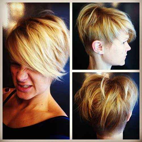 Messy Long Pixie Cuts