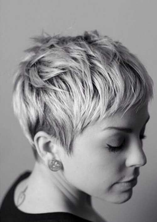 Messy Straight Pixie Hairstyles